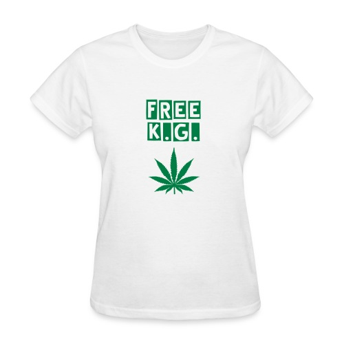 Ladies Free K.G. - Women's T-Shirt