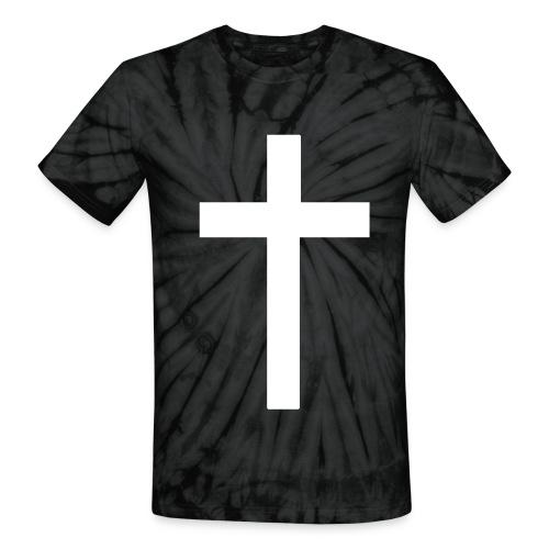Cross tie dye - Unisex Tie Dye T-Shirt