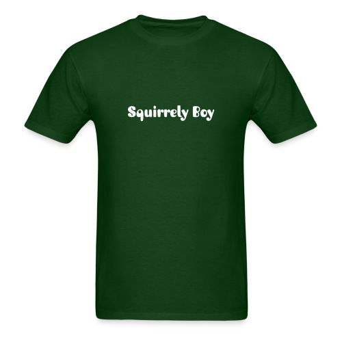 Squirrely Boy T-Shirt - Men's T-Shirt