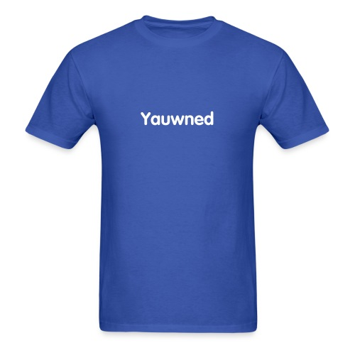 Yauwned T-Shirt - Men's T-Shirt