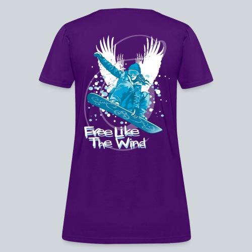 Boarder Girl T-shirt - Women's T-Shirt