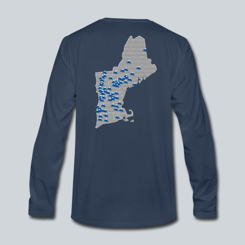 All New England Ski Shirt - Men's Premium Long Sleeve T-Shirt
