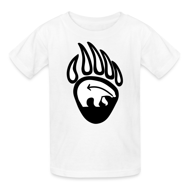 Tribal Art Kid's Shirt First Nations Bear T-shirt