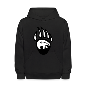 Tribal Bear Kid's Hoodie First Nations Sweatshirt - Kids' Hoodie