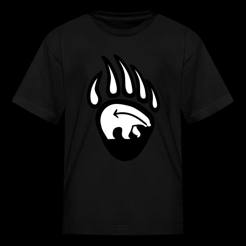 Tribal Art Kid's Shirt First Nations Bear T-shirt - Kids' T-Shirt