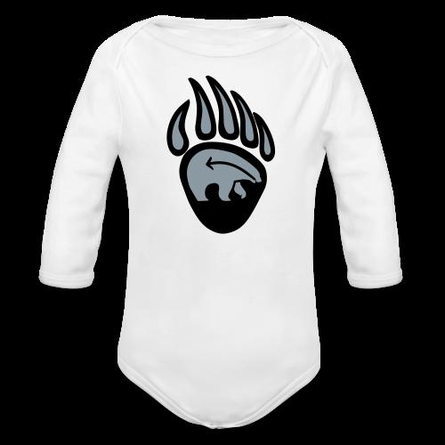 Tribal Art Baby T-Shirt First Nations Baby Shirts - Organic Long Sleeve Baby Bodysuit