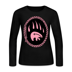 Tribal Claw Art Women's Long Sleeve Shirts  - Women's Long Sleeve Jersey T-Shirt