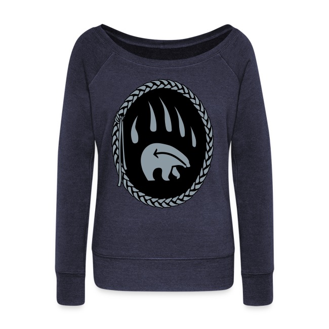 First Nations Bear Shirt Women's Long Sleeve