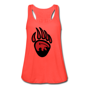 Tribal Claw Art Women's Shirts  - Women's Flowy Tank Top by Bella