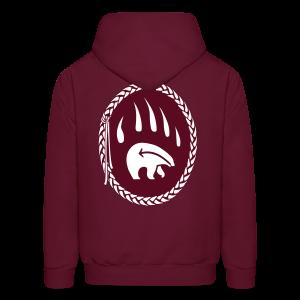 Tribal Bear Hoodie Men's First Nations Sweatshirts - Men's Hoodie