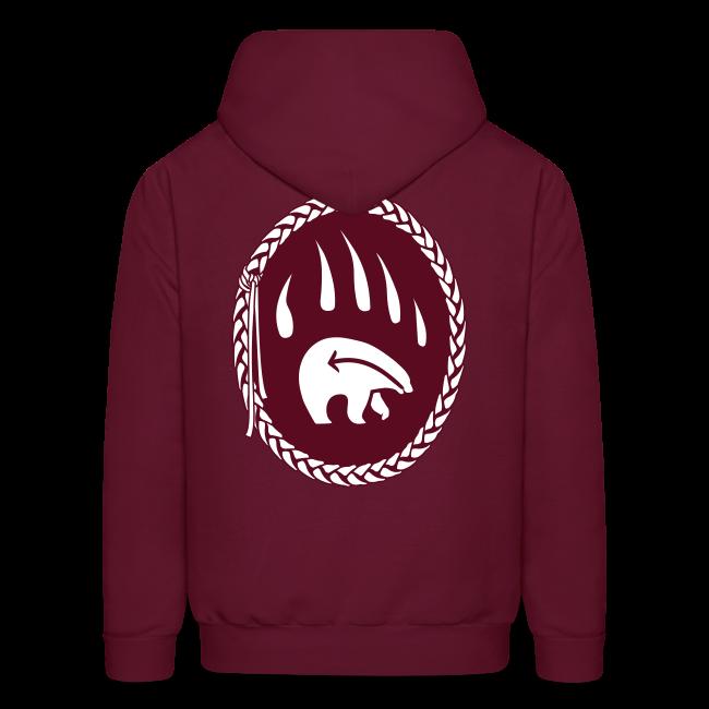 Tribal Bear Hoodie Men's First Nations Sweatshirts
