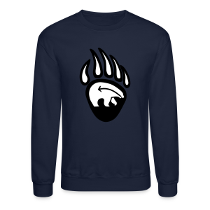 Tribal Bear Shirt Men's First Nations Sweatshirt - Crewneck Sweatshirt