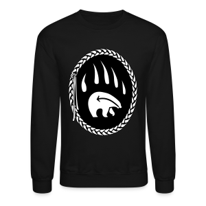 Tribal Bear Shirt Men's First Nations Shirt - Crewneck Sweatshirt