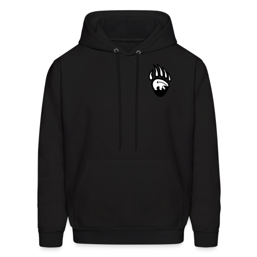 Tribal Bear Hoodie Men's First Nations Sweatshirts - Men's Hoodie