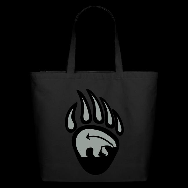 Tribal Bear Art Tote Bag - Shopping Bags