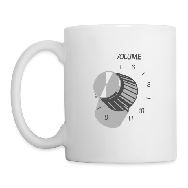Turn It Up To 11 Coffee Mug