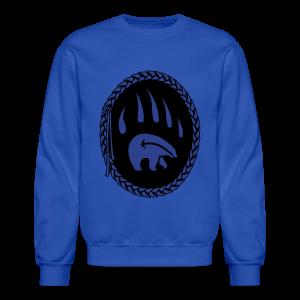 Tribal Bear Sweatshirt Men's First Nations Shirt - Crewneck Sweatshirt