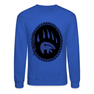 Tribal Bear Sweatshirt Men's First Nations Shirt - Crewneck Sweatshirt