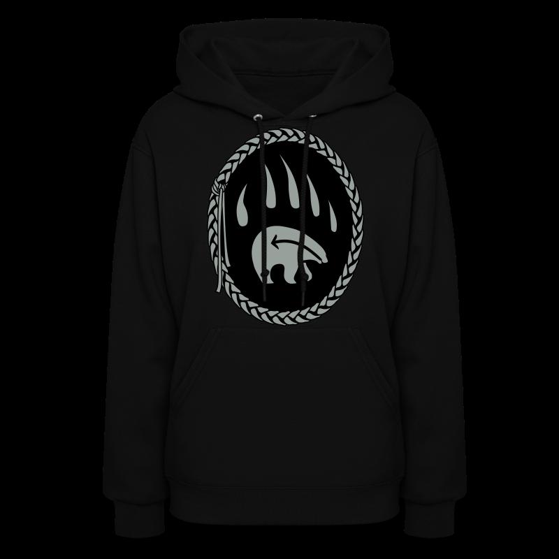 Tribal Art Hoodie First Nations Bear Hoodie Sweatshirt - Women's Hoodie