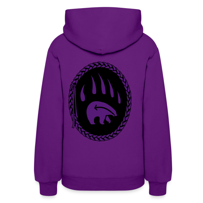 Tribal Art Hoodie First Nations Bear Hoodie Sweatshirt
