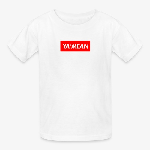 YA'MEAN. Youth Tee - Kids' T-Shirt