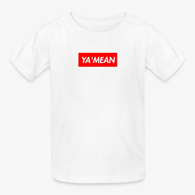 YA'MEAN. Youth Tee