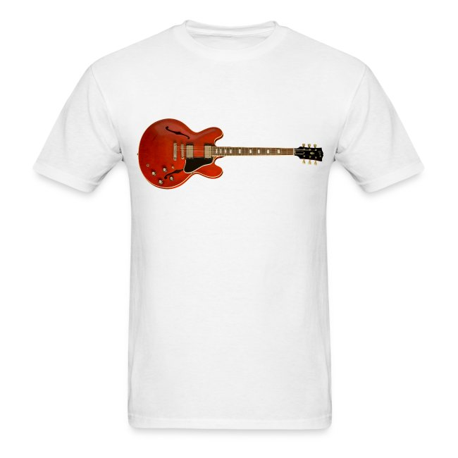 Red ES-335 Guitar