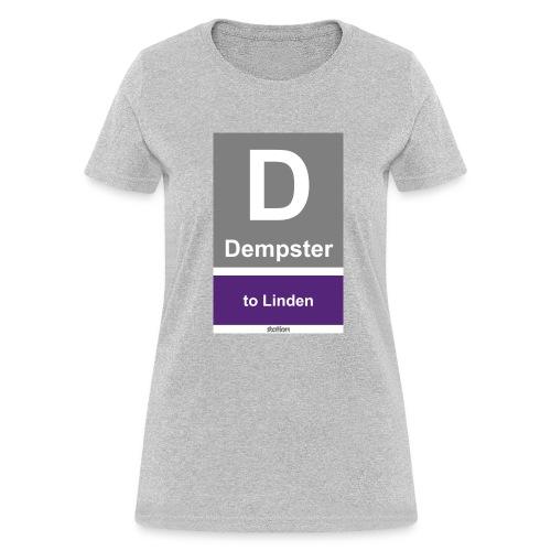 CTA Purple Line - Men's T-Shirt - Women's T-Shirt