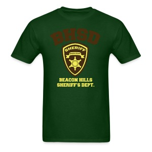 Beacon Hills Sheriff's Department (Large Logo) - Men's T-shirt - Men's T-Shirt