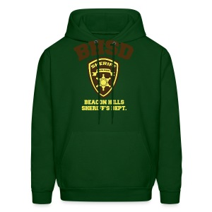 Beacon Hills Sheriff's Department (Large Logo) - Men's Hoodie - Men's Hoodie