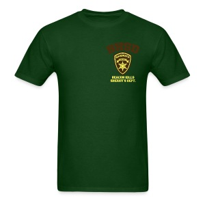 Beacon Hills Sheriff's Department (Small Logo) - Men's T-Shirt - Men's T-Shirt