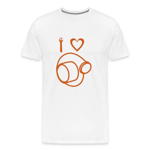 I love Turbo Boost - Men's Premium T-Shirt
