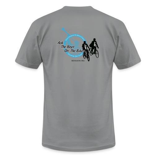 boys on bikes mens - Men's Fine Jersey T-Shirt