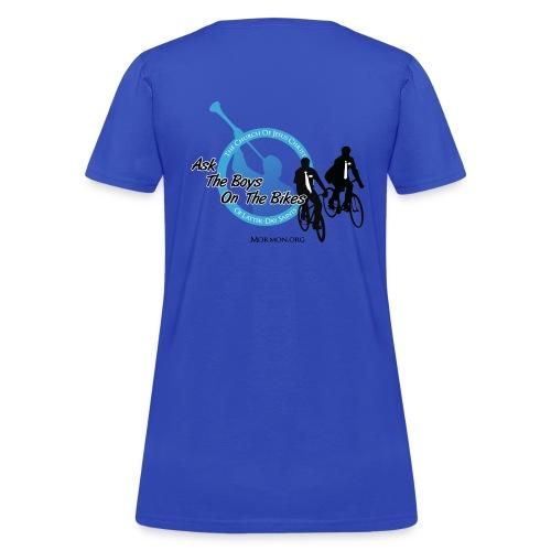 boys on bikes girls - Women's T-Shirt