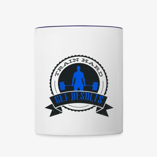Classic Ceramic Mug - Blue - Contrast Coffee Mug