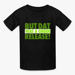 GREEN RELEASE. Youth Tee - Kids' T-Shirt