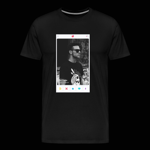 Out There Swipes Right - Men's Premium T-Shirt