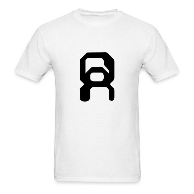 White Men's Shirt with Symbol