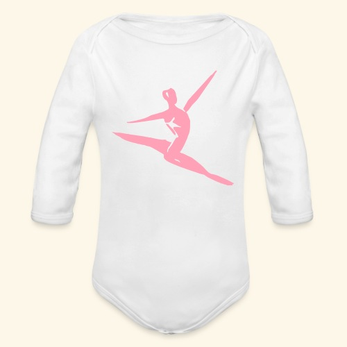 Future Dancer - Organic Long Sleeve Baby Bodysuit