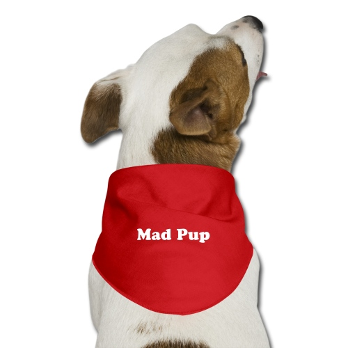 Mad Pup Dog Scarf - Dog Bandana