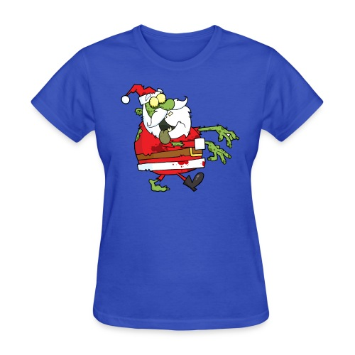 Zombie Santa - Women's T-Shirt