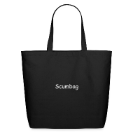 Bags & backpacks ~ Eco-Friendly Cotton Tote ~ Scumbag Bag