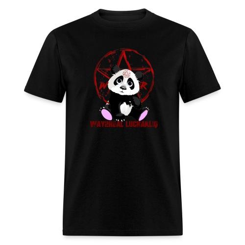 Way2Real Lucha Kliq Devilish Panda Men's T-Shirt - Men's T-Shirt