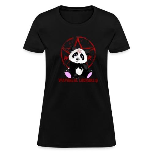 Way2Real Lucha Kliq Devilish Panda Women's T-Shirt - Women's T-Shirt