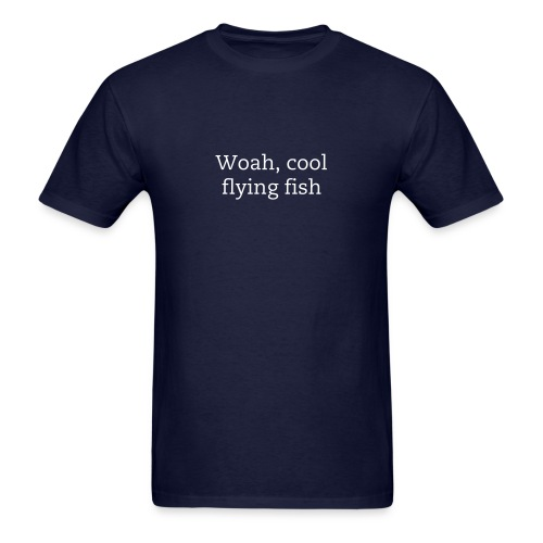 Flying Fish T-Shirt - Men's T-Shirt