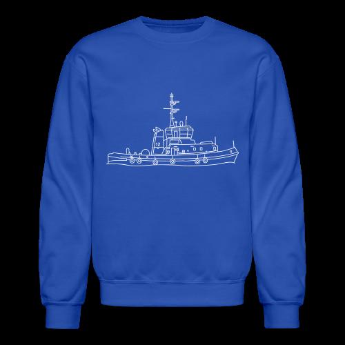 Tug or towing boat - Crewneck Sweatshirt