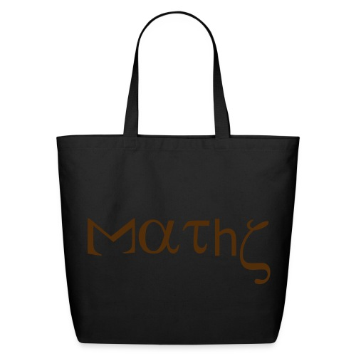 Bag maths humor - Eco-Friendly Cotton Tote