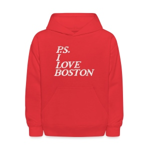 P.S. I Love Boston - Kids' Hoodie