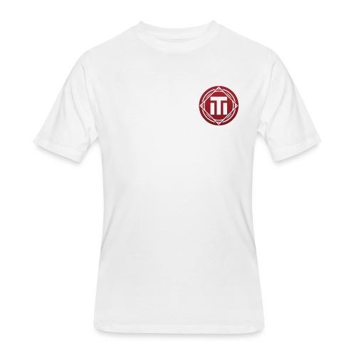 Red Logo T-Shirt - Men's 50/50 T-Shirt