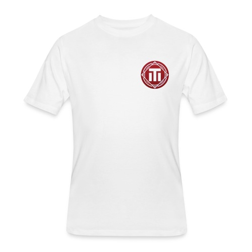 Red Logo T-Shirt - Men's 50/50 T-Shirt